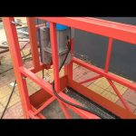 ZLP 630 Aerial Painting Suspended Work Platform vir Windows Cleaning